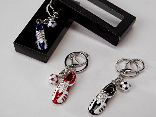 Formano sleutelhanger voetbalschoen 656964 blauw rood zwart rood