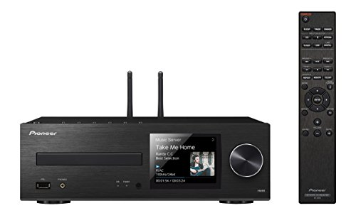Pioneer Network CD Receiver Home CD Player, Silver/Black (XC-HM86)