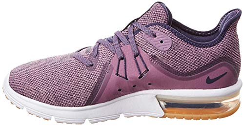 Nike WMNS Air Max Sequent 3 Womens 908993-501 Violet DUST/Neutral Indigo-Obsidian Running Shoes (8 B US)