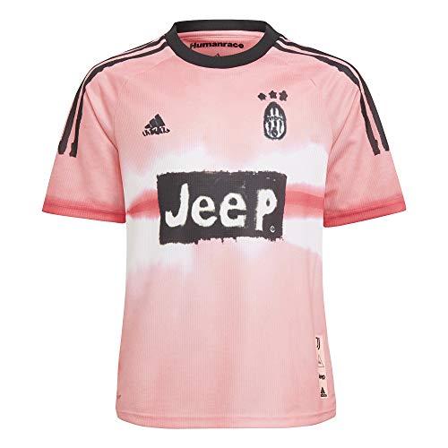 adidas Juve Hufc JSY Y T-Shirt, Unisex niños, Glow Pink/Black, 1112