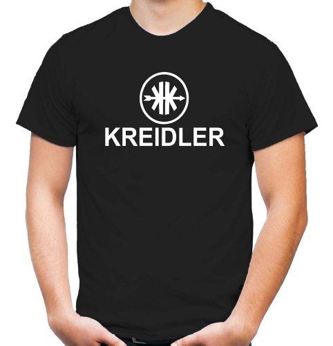 Kreidler Logo T-Shirt | Moped | Kult | Fun | Männer | Herren | Fahrzeugbau | Mofa | Mokick | Leichtkrafträder | Kleinkrafträder | Anton | Pan (M)