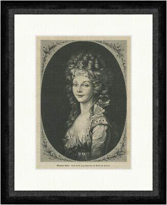 Kunstdruck Königin Luise von...