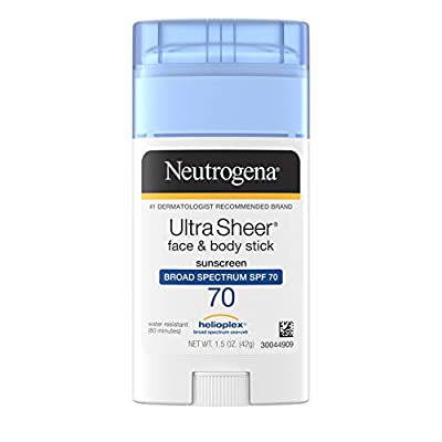 Neutrogena Ultra Sheer Face & Body Stick, Sunscreen Broad Spectrum Spf 70, 1.5 Oz. from Johnson Johnson Slc