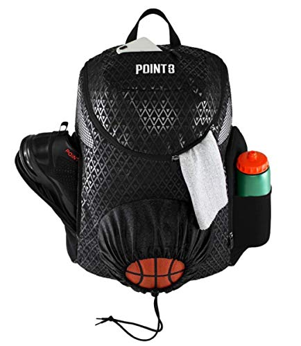 For Single Ball Black//Blue//Black/&Yellow//Yellow//Orange perfk Lightweight Mesh Net Bag for Basketball Football Storage Bag Carrier Pouch
