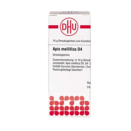 DHU Apis mellifica D4 Streukügelchen, 10 g Globuli
