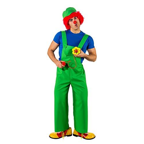 Orlob Herren Kostüm Latzhose grün Karneval Fasching Gr.54/56