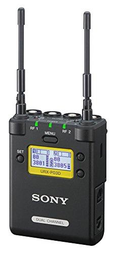 Sony UWP-D 2-Kanal Audio Funk-Empfänger für Digitalkameras oder Camcorder (Frequenzversion 33-40, 566 MHz bis 630 MHz)
