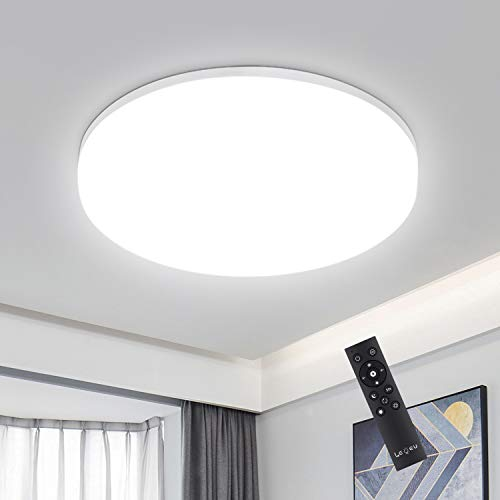 Deckenleuchte -  18W LED  Dimmbar,