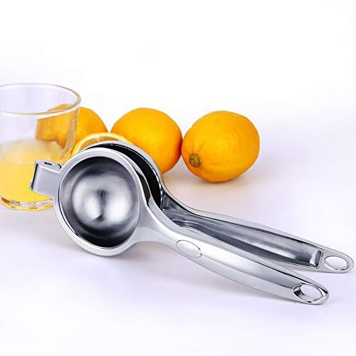 レモンしぼり上質ステンレス製人間工学果汁絞り器ハンドジューサ