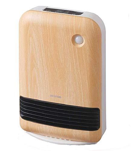 アイリスオーヤマ 人感センサー付き大風量セラミックファンヒーター 木目調 薄木目 JCHM-12TD4-NTM