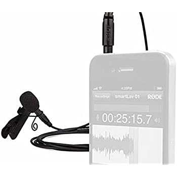 Rode Smartlav Lavalier Microphone for iPhone and Smartphones (OLD MODEL)