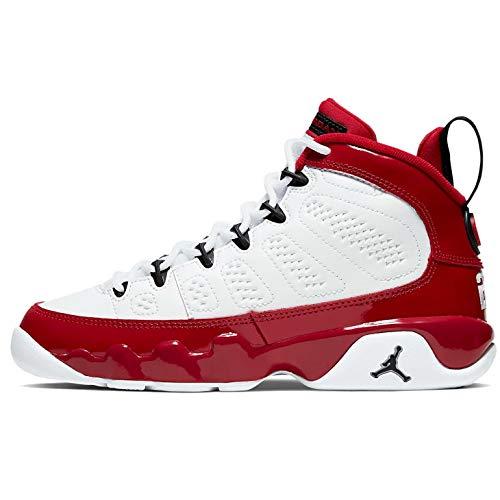Jordan Grade School Retro 9'Gym Red White/Black-Gym Red (4 M US Big Kid)
