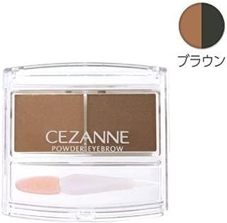 Cezanne Powder Eyebrow R (Brown) by cezzane