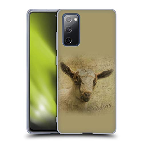 Head Case Designs Officially Licensed Simone Gatterwe Baby Goat Wildlife Soft Gel Case Compatible with Samsung Galaxy S20 FE / 5G