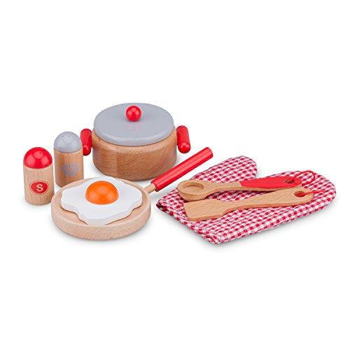 New Classic Toys - 11056 - Jeu D'imitation - Ensemble de Cuisine - Bon Appétit