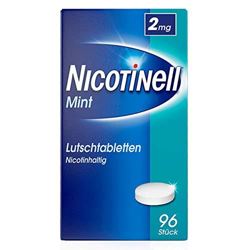 Nicotinell Lutschtabletten 2 mg Mint, 96 St. – Diskrete Unterstützung bei der Raucherentwöhnung