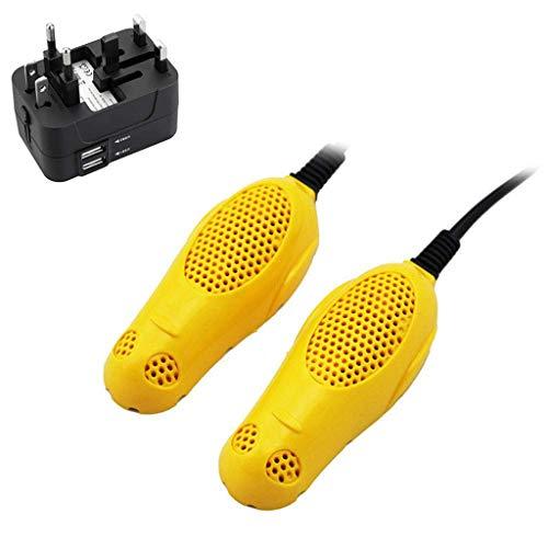 JJYPT Zapatos secador eléctrico de Arranque Secadora y Calentador, Tendedero Ajustable y...