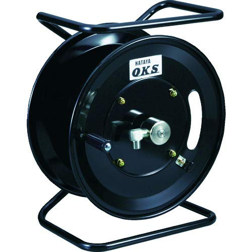 OKS 高圧ホースリール 耐圧20.5MPa 手動巻移動スタンド型(ホースなし) HSP12MS