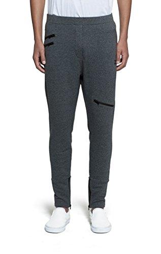 Onepiece Unisex Sporthose Pant Out, Grau (Nep Dark Grey), W41/L34 (Herstellergröße: L)