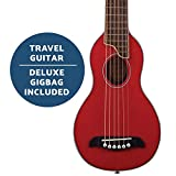 Washburn Rover 6 String Acoustic Guitar, Right, Trans Red, Full (RO10STRK-A)