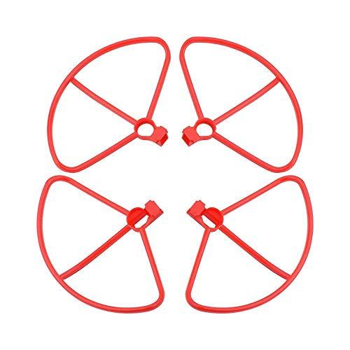 Propeller 3in1set Anillo de protección de hélices para Xiaomi FIMI X8 SE Hélices plegables Trenes de aterrizaje RC Quadcopter Repuestos Accesorios Accesorios para drones (Color: Blanco Tren de aterriz