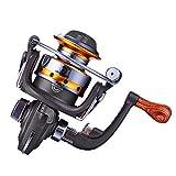 Mini tipo carrete de pesca Spinning Wheel Rodamientos 5.5: 1 carrete de metal exquisito carrete de pesca herramientas al aire libre