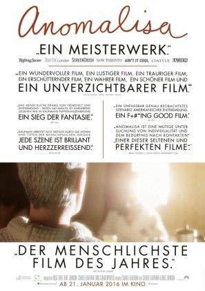 ANOMALISA – Deutsche Film Poster Plakat Drucken Bild - 43.2 x 60.7cm Größe Grösse Filmplakat