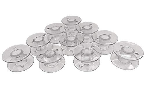 10 Kunststoff Spulen für W6 W 6 Nähmaschine