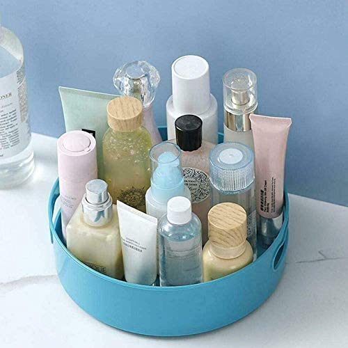 AAQQ 2 pcs Multi-Function Rotating Tray,Kitchen Organizer,Cosmetics Organize,Bathroom cosmetic storage box Save Space,Cosmetics Organize for Kitchen Pantry.