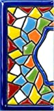 TORO DEL ORO Números para casas. Números y Letras en cerámica esmaltada, Pintados a Mano con la...
