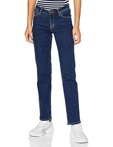 Lee Marion Straight Jeans, Stone Travis, 29W x 31L Donna