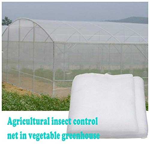 LILAMP Insect Protection Net,White Insect Netting Garden Insect Protection Net Vegetable Plant Protect Netting Anti Bird Netting Plant Grown Tunnel Fine Mesh for Garden,Fruit,Plants(customizable)