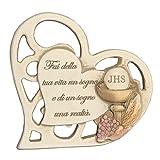 Regalami.shop, bomboniera Prima Comunione, cm 11x11 (Linea Nikol) con scatola, confetti, nastro chiudipacco