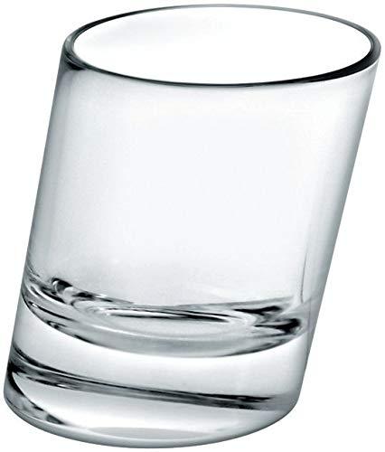 Pisa Pistoolvorm/50 ml – 6 stuks | 5 cl borrelglazen, schuin borrelglaasjes