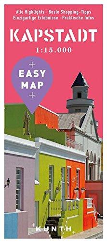 EASY MAP Kapstadt: 1:15.000 / mit Gardenroute 1:1.250.000 (KUNTH EASY MAP / Reisekarten)