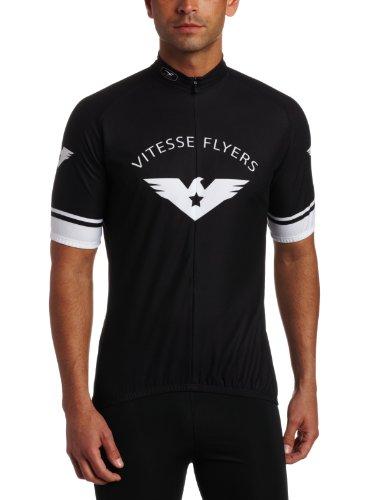 Sugoi Uni Trikot Vitesse Flyers Jersey, Black, S, 57513U.298