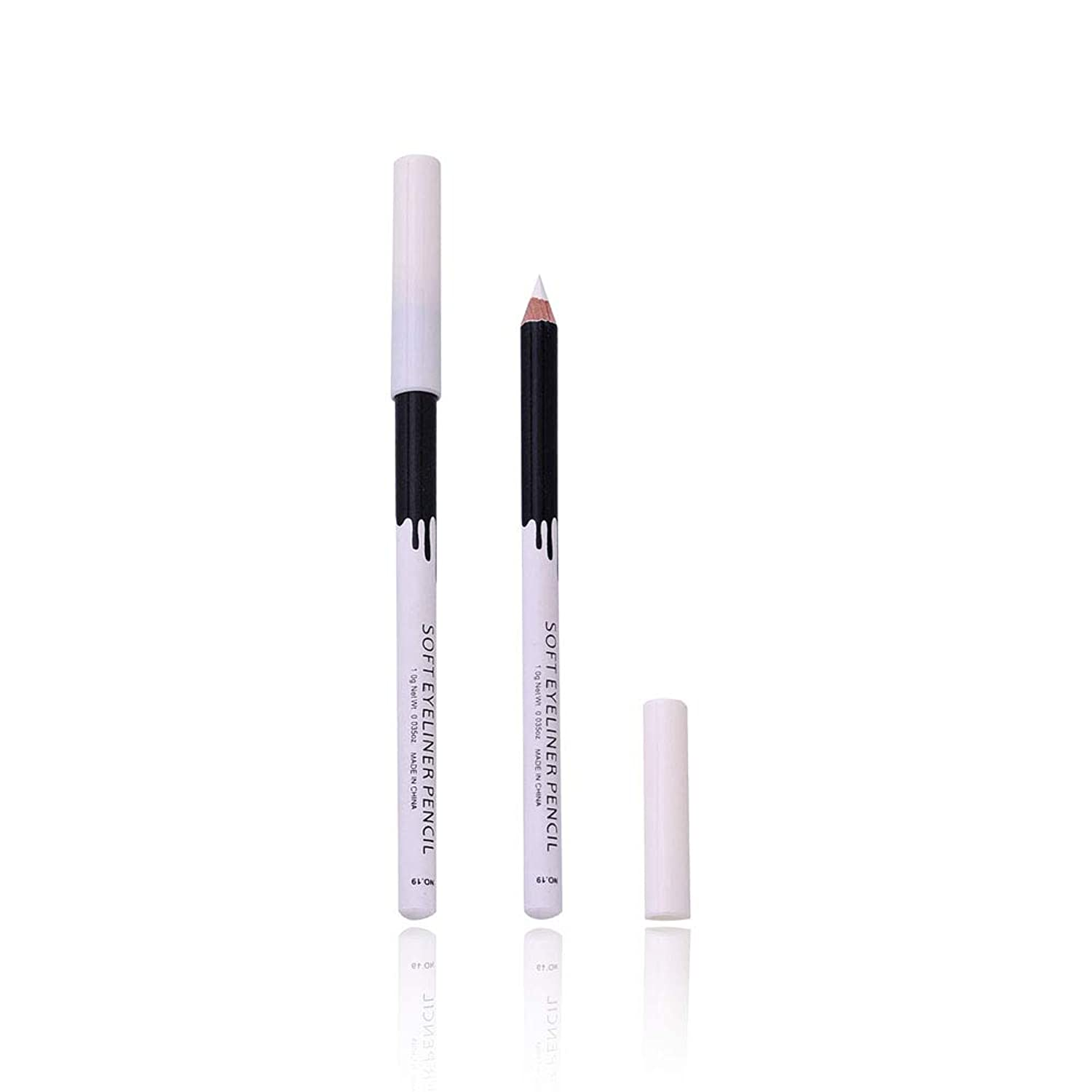 White Eyeliner Makeup Smooth Easy To Wear Eyes Brightener Eye Liner Pen Waterproof Make Up White Eyes Liner Pencils L6623 pgqaws4797371