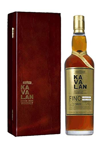 Kavalan Solist Single Malt Whisky Fino Sherry Cask in Holzkiste Taiwan (1 x 0.7 l)