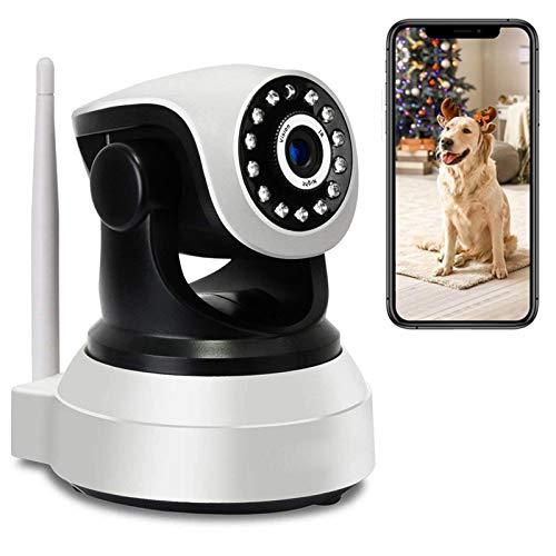 Monitor de bebé Vigilabebés WiFi con PTZ Cámara y Audio Visión Nocturna Cámara IP de Vigilancia Interior HD 1080P,Alerta App,Rotación355°/90°,Audio bidireccional,Detección de Movimiento 【Cámara】