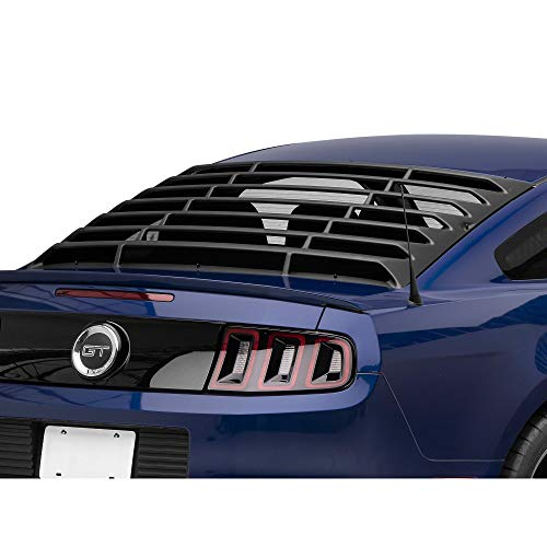 MMD ABS Rear Window Louvers - Muscle Car Styling Fits Ford Mustang Coupe 1994-2004