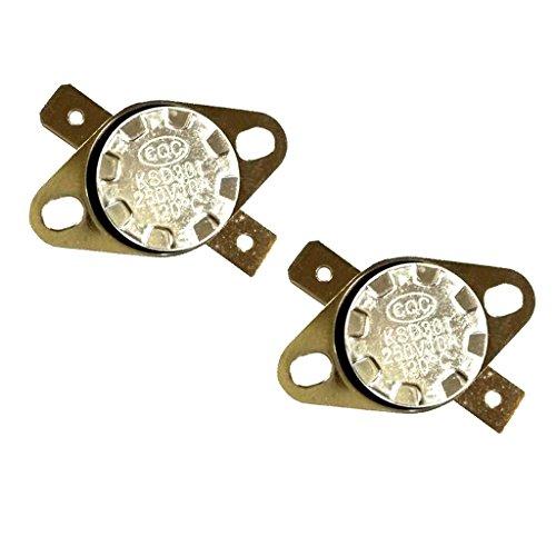 2 Stücke NC Temperaturgesteuerte Thermostat KSD301 Für Kaffeemaschine, Wasserkocher, Tauchsieder