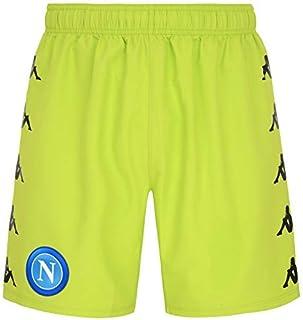 SSC NAPOLI - Pantaloncino Gara Portiere Away 2020/21, Pantaloncino Gara Portiere Away 2020/21 Unisex - Adulto