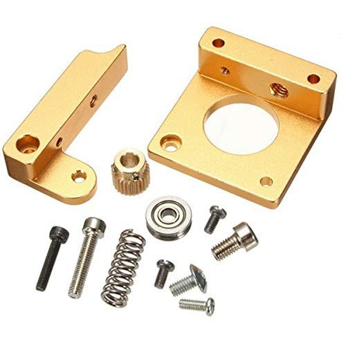 Youmile All Metal Right Hand MK8 Estrusore kit telaio in alluminio fai-da-te kit per stampante 3D Reprap i3