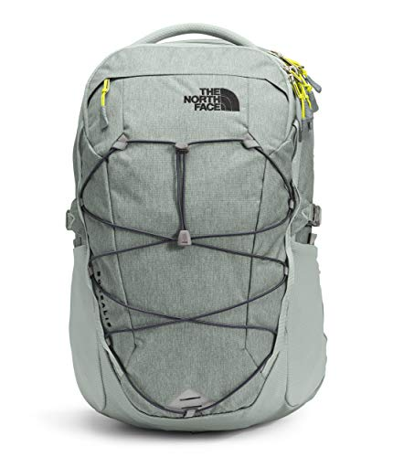 The North Face Borealis Laptop Backpack - Bookbag for Work, School, or Travel, Wrought Iron Dark Heather/Vandis Grey/Srspggn, One Size