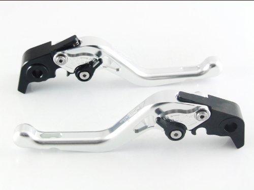 Strada 7 Racing Court Réglable Leviers Paire Argent pour Ducati 1198 S/R