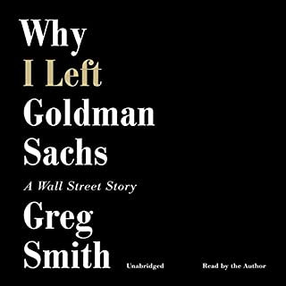 Why I Left Goldman Sachs cover art