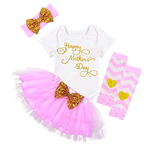 5. Newborn baby girl Mother's day Outfit Product Image