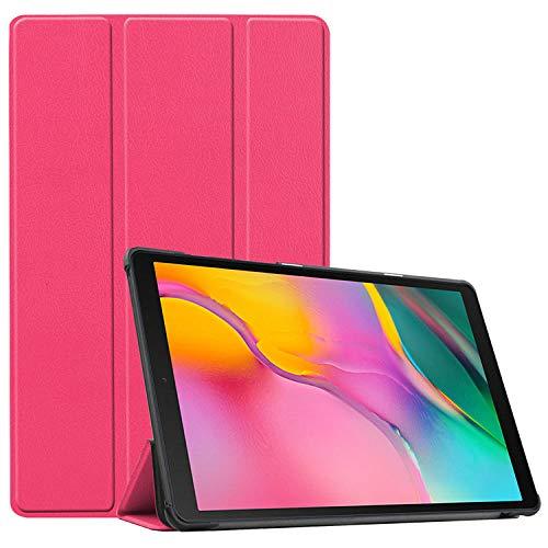 Tab A7 10.4 T500 2020 Aplicable Samsung Tablet Funda-Rosa roja_Tab A7 10.4 T500 2020