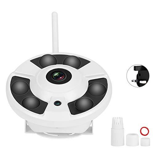 JKMQA IP FishEye Cámara 360 Vigilancia Panorámica IR WiFi 1080p 110-240V para Enchufe Onvifuk