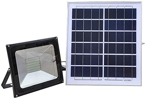 ZJDM inundación LED Solar 100W / 200W, IP66 Sensor Remoto al Aire Libre Impermeable Seguridad Paneles solares Lámparas de Seguridad Jardín al Aire Libre Garaje (Color: 200W)